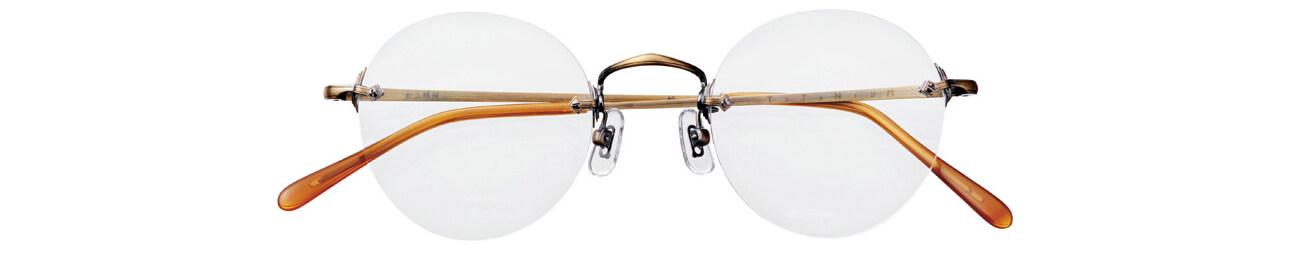 ¥48200(レンズ込み)/白山眼鏡店WALLS(白山眼鏡店)