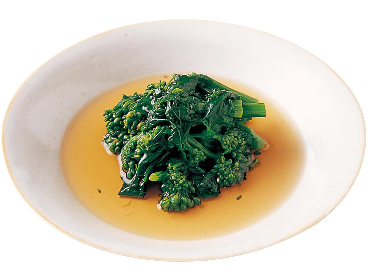 「菜の花の煮びたし」レシピ/行正り香さん