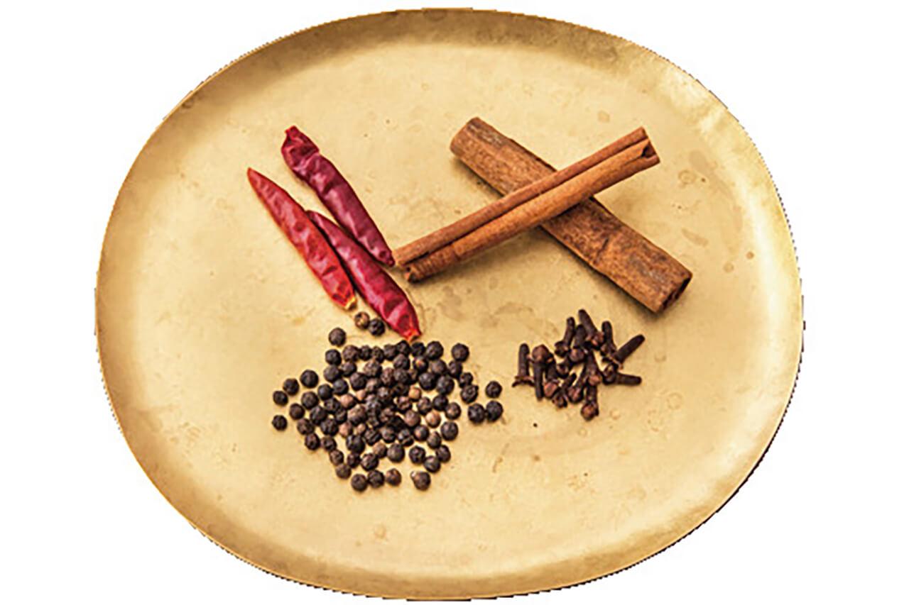 「梅シロップ」に使うスパイス