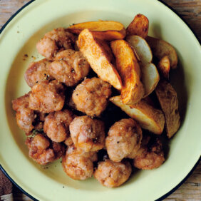 【メスティンレシピ】「豚薄切り肉の唐揚げ」/柚木さとみさん