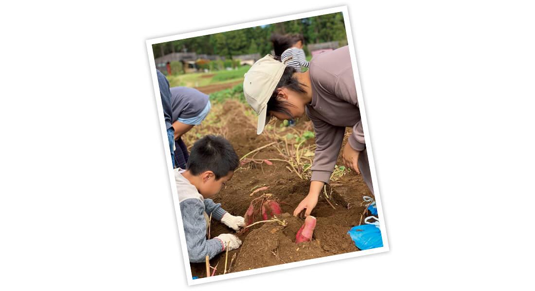 川口ゆかりさんのTHE FARMでのキャンプ写真