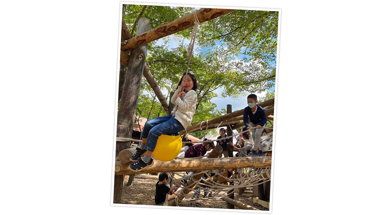 スタイリスト 今田 愛さんのライジングフィールド軽井沢でのキャンプ写真