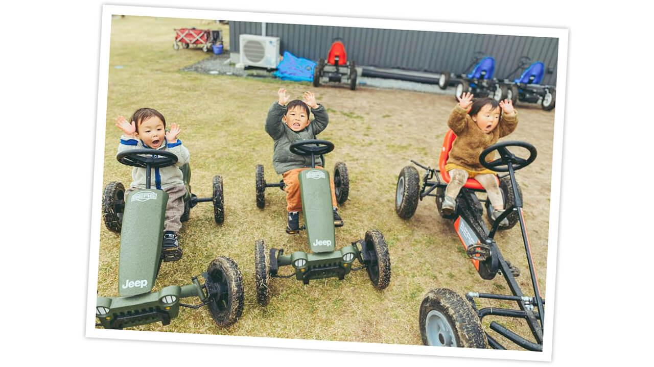 LEE100人隊No.058 gumiさんのやまもりサーキットでのキャンプ写真