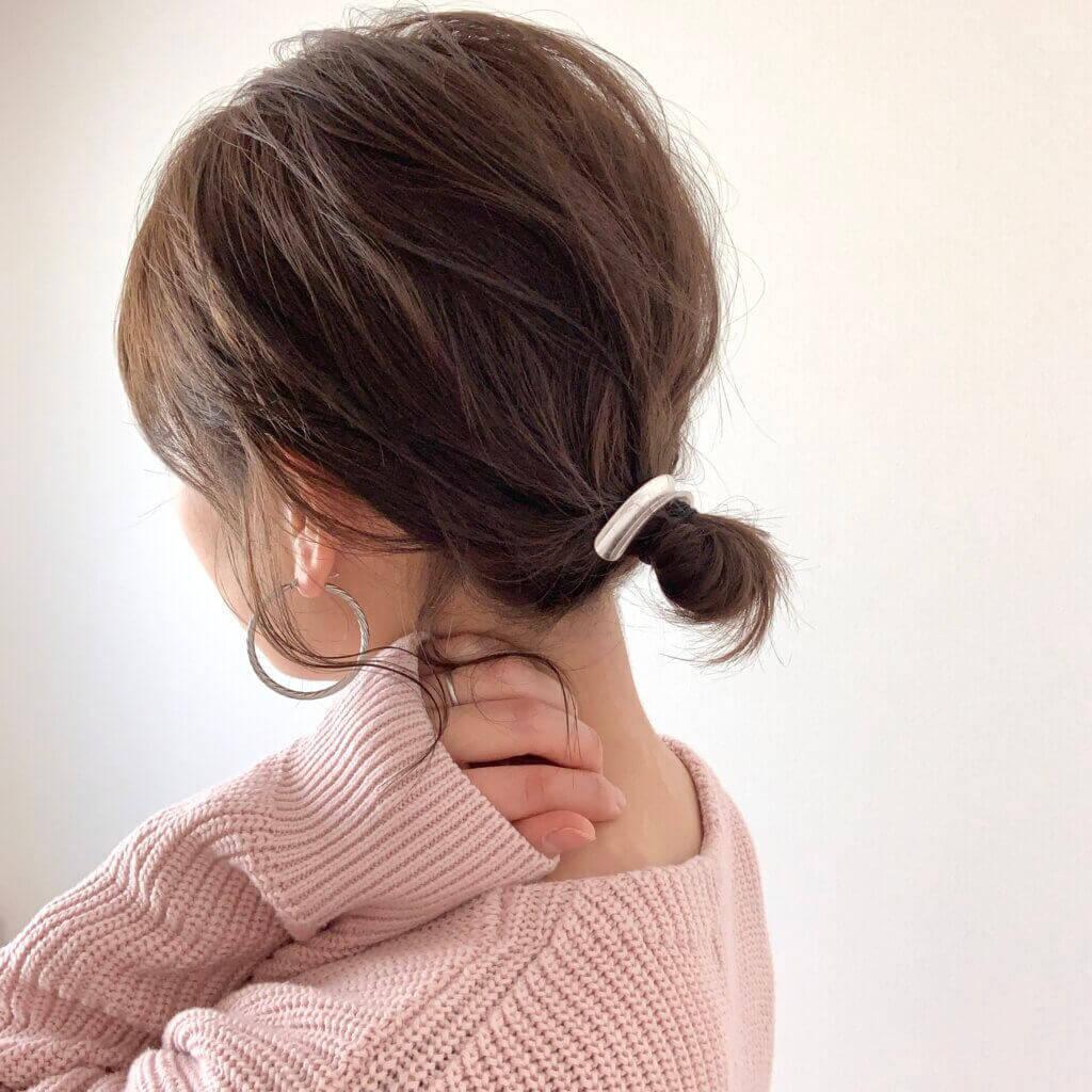 【6ステップ】ヘアカフで「大人の簡単まとめ髪」が完成!