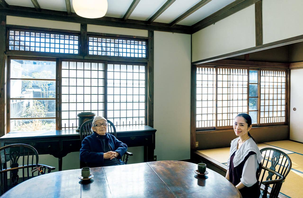 女優 深津絵里さん、染色家 柚木沙弥郎さん