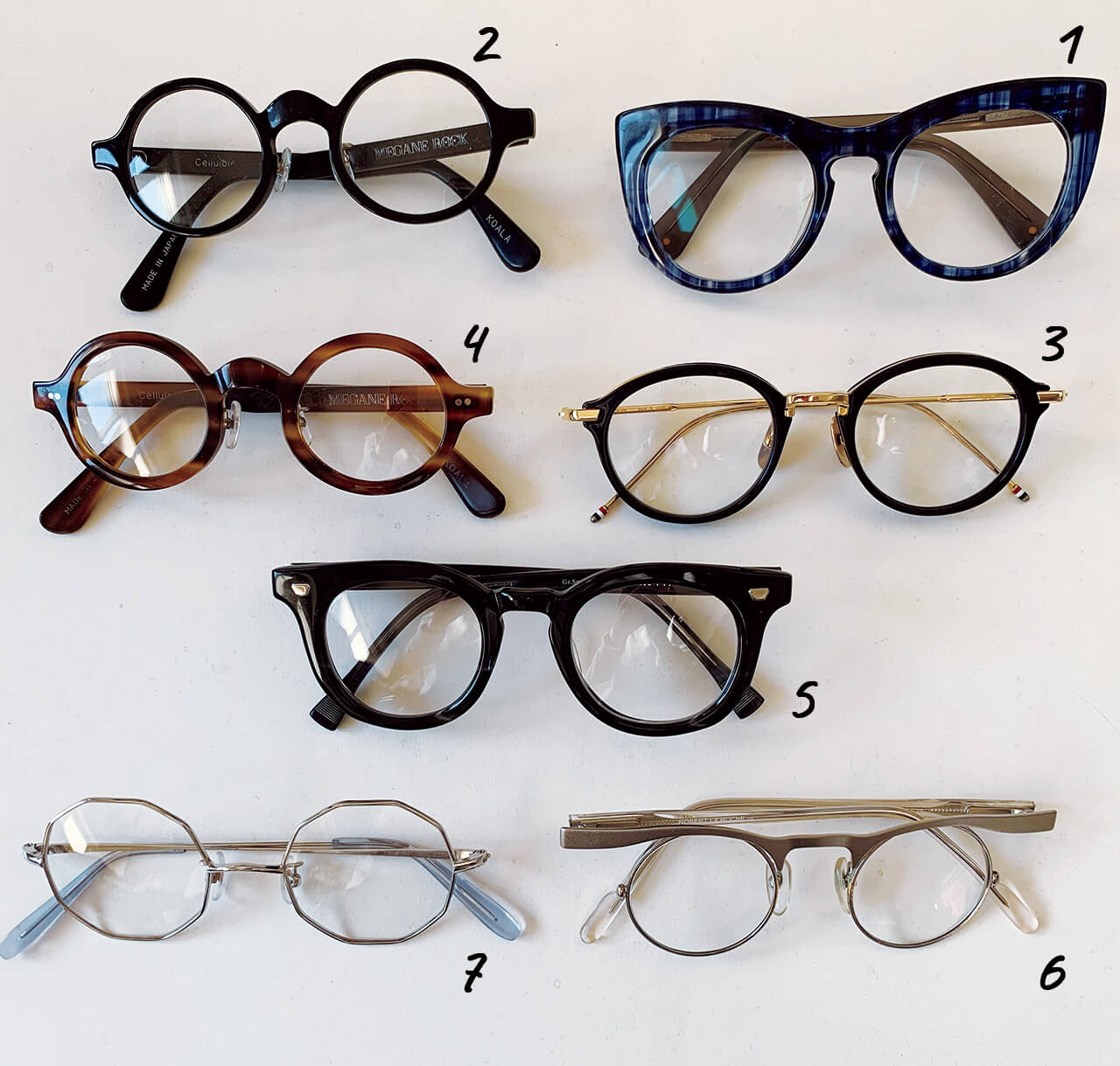岡本敬子さんの愛用眼鏡7選