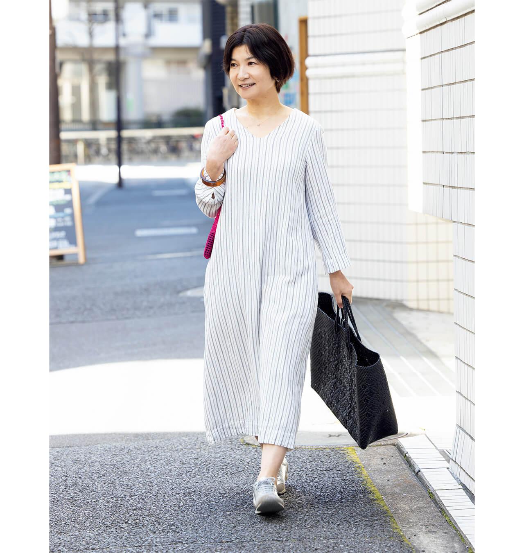 アオのサイトやhalで現在も購入可能の後藤由紀子さん偏愛ガーゼワンピース
