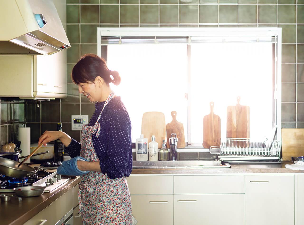 小堀紀代美さんのキッチン
