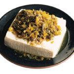 「高菜のせレンチン蒸し豆腐」レシピ/堤 人美さん