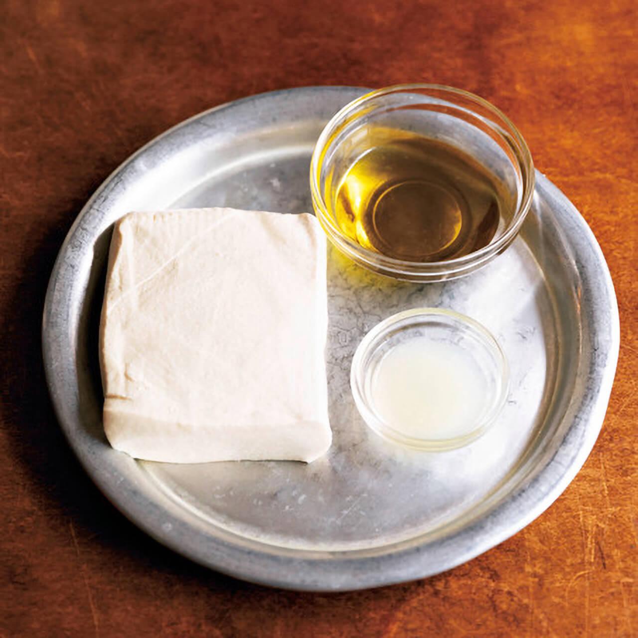 「基本の豆腐クリーム」の材料