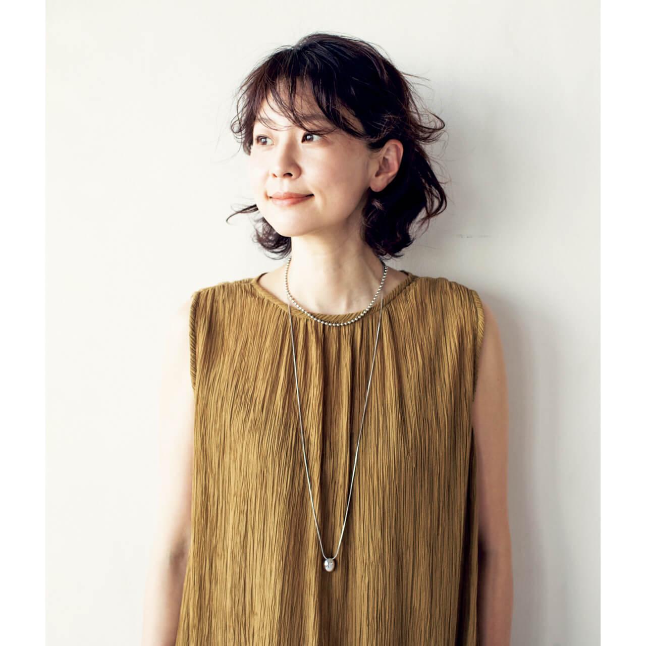 ワンピース/五明さん私物(サキ) モデル/五明祐子さん