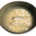 「くずし豆腐のスープ」レシピ/堤 人美さん