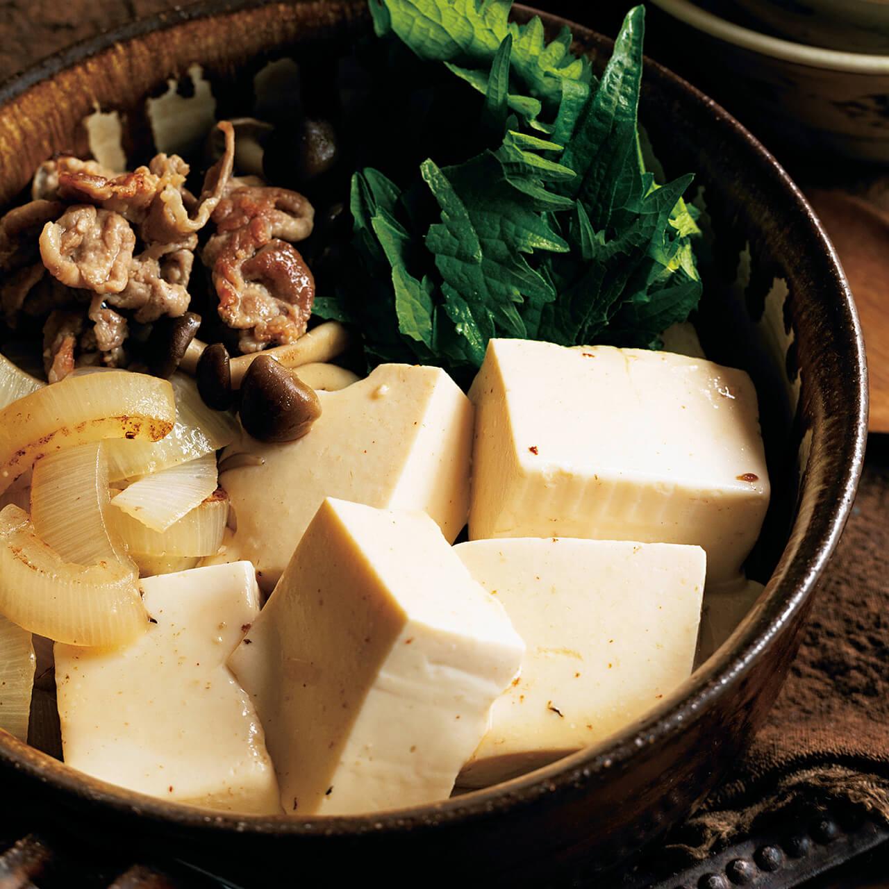 「さっぱり塩肉豆腐」レシピ/堤 人美さん