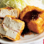 「豆腐のチーズハムサンドフライ」レシピ/堤 人美さん