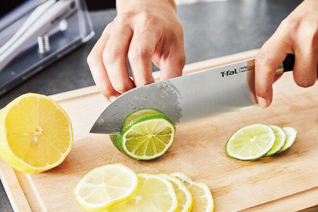 エバーシャープ 三徳ナイフ 16.5cm/ティファール