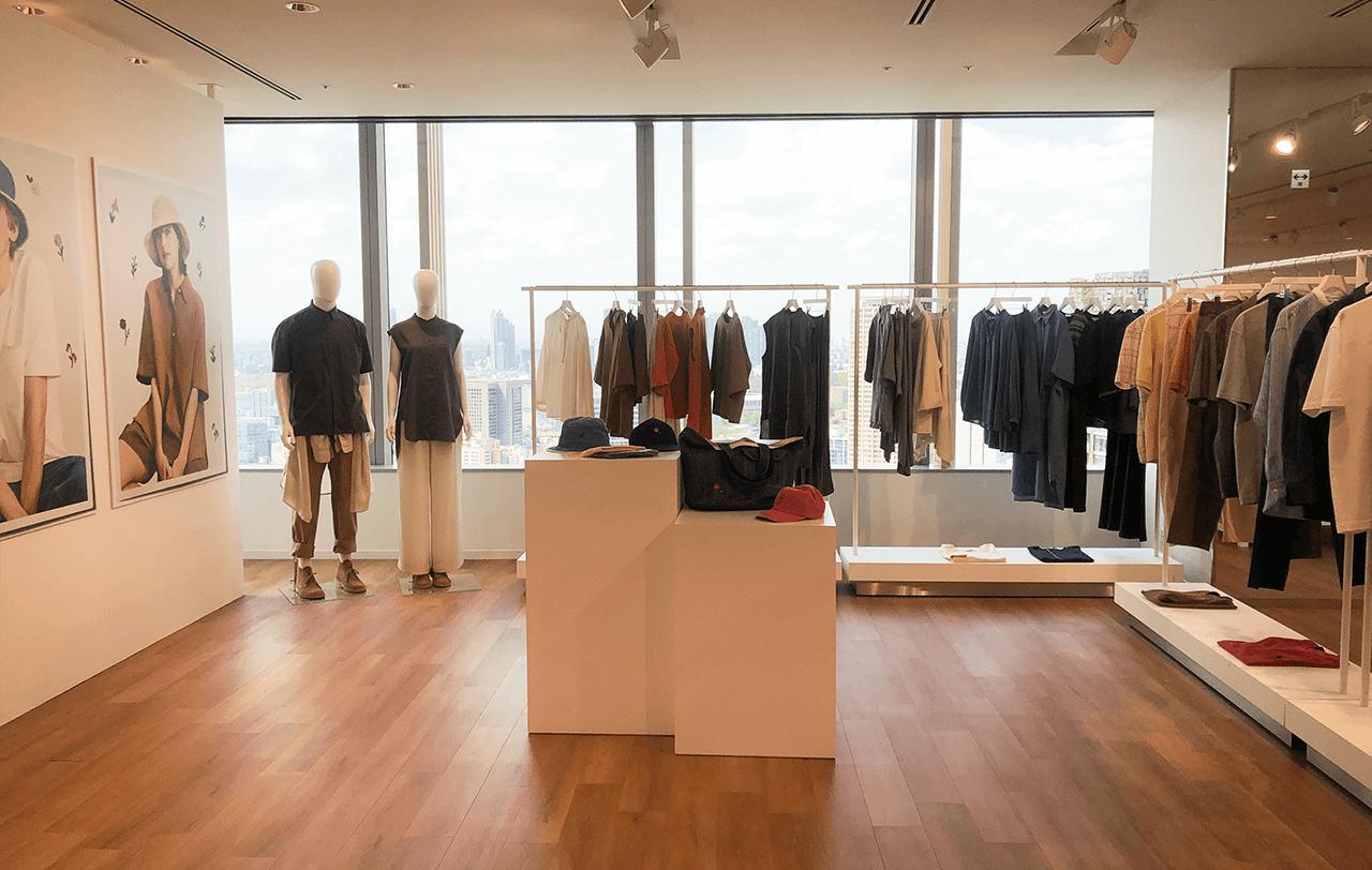 「ユニクロ&JWアンダーソン」2021春夏コレクションの展示会会場