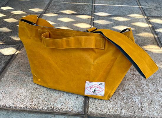 デロリアンズのお散歩帆布バッグ
