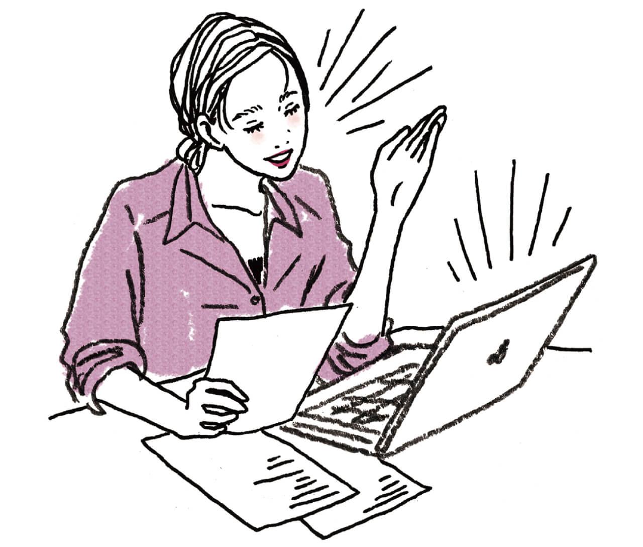 会社勤めの読者はリモートワークで新たな働き方に