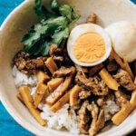 アイキャッチ画像:【台湾定食・魯肉飯(ルーローハン)定食】「魯肉飯」レシピ/真藤舞衣子さん
