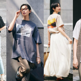 【大人に似合うフォトTシャツコーデ】上品に見える選び方教えます!