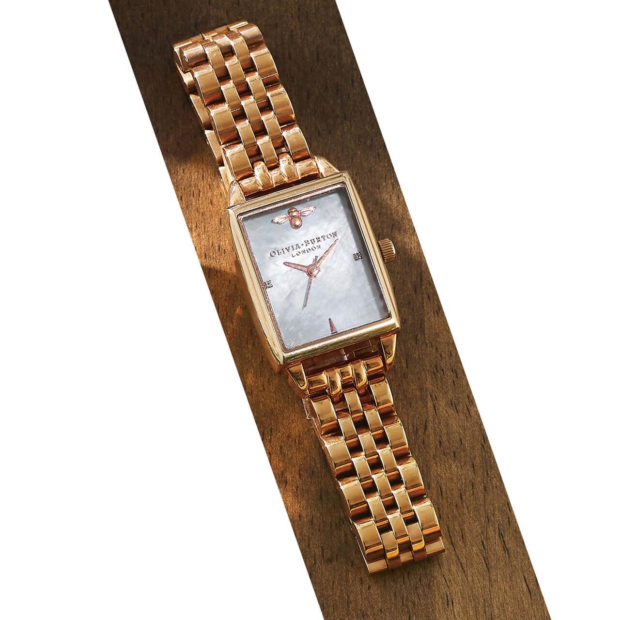 時計(SS、26×21mm)¥26400/オリビア・バートン グランフロント大阪店(オリビア・バートン)