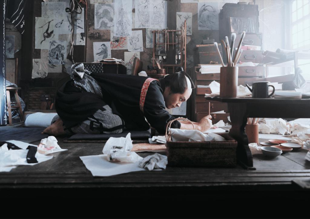 『HOKUSAI』5月28日(金)全国ロードショー(C)2020 HOKUSAI MOVIE