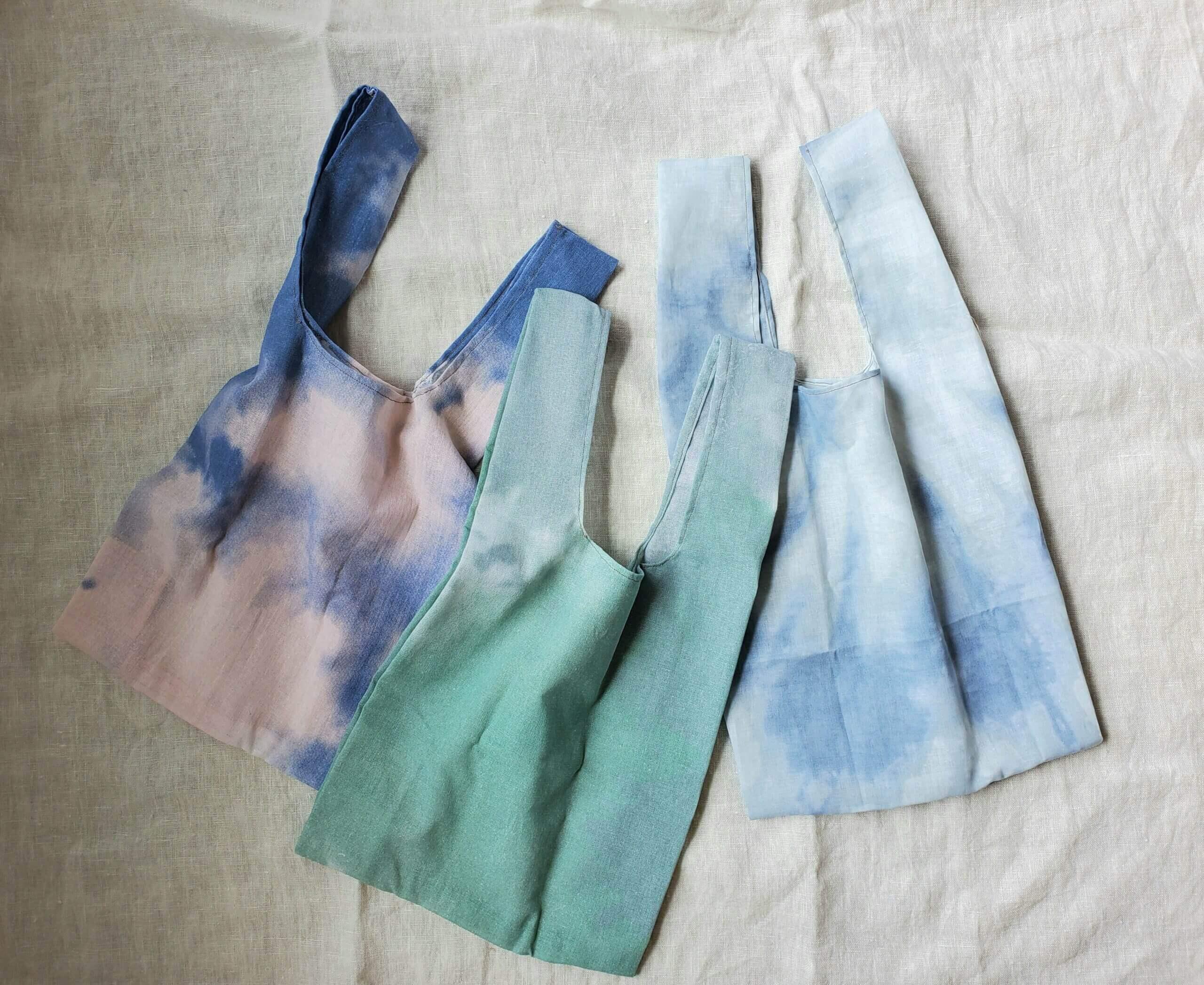 【3人分】「最近手作りした布アイテム」拝見!【エコバッグ、マスク、スカートをハンドメイド】