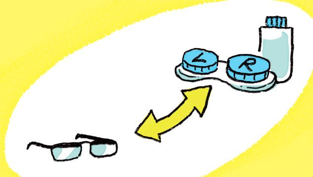 朝はメガネで12時間ルールを!