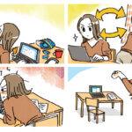 オンライン時代の目が危ない!2