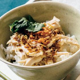 アイキャッチ画像:【台湾定食・鶏肉飯(ジーローハン)定食】「鶏肉飯」レシピ/真藤舞衣子さん