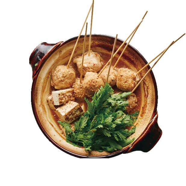「豚しゃぶ肉とこんにゃくのどて煮風」レシピ/ワタナベマキさん