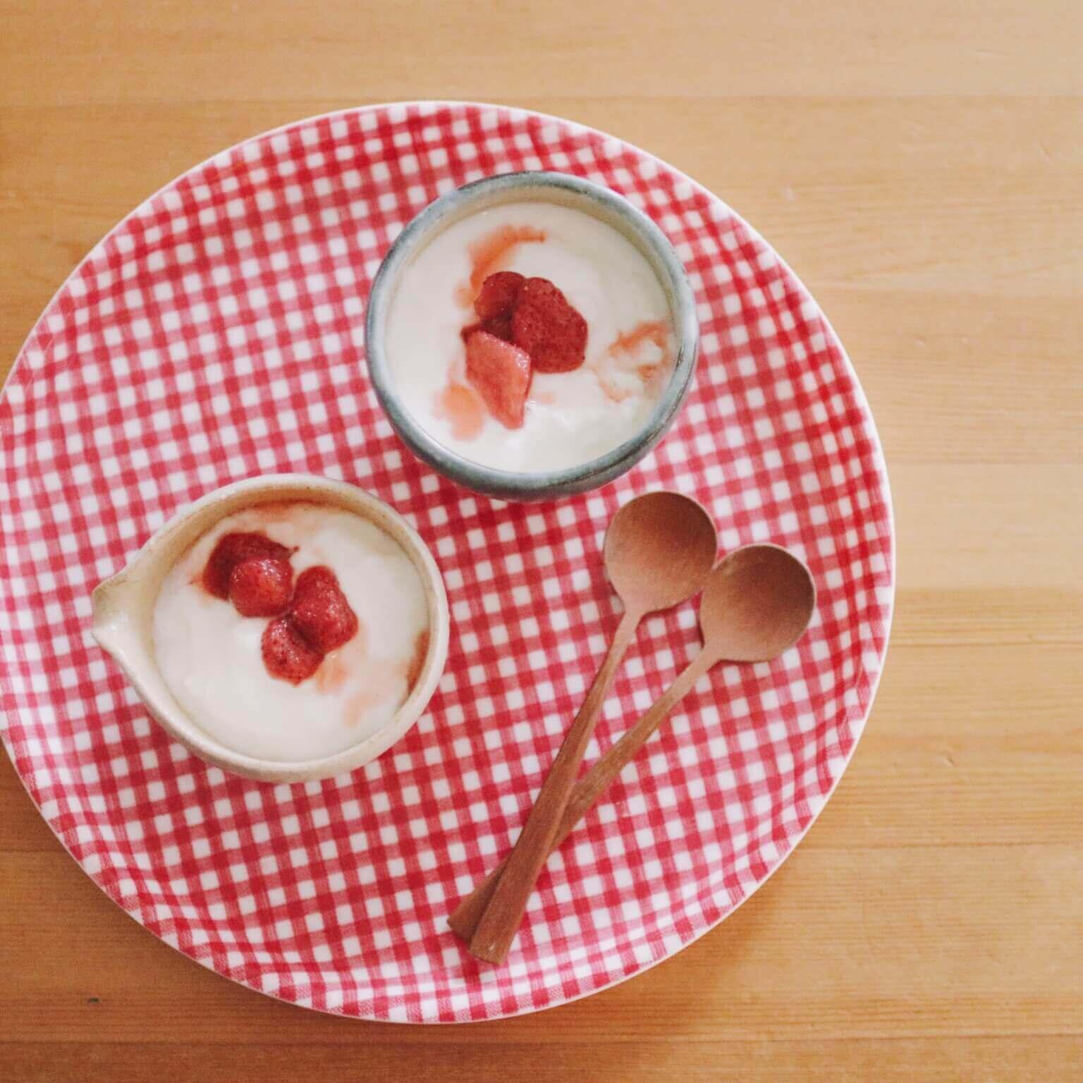 【2種類の「いちごシロップ」!内田真美さんレシピが大人気!】2人分の感想をチェック♪