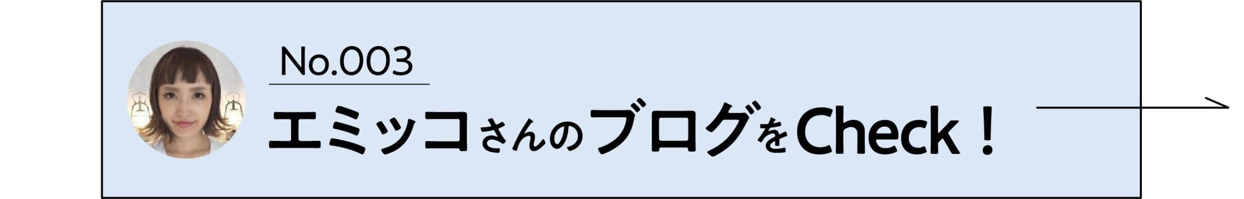 エミッコさんのブログをCheck!