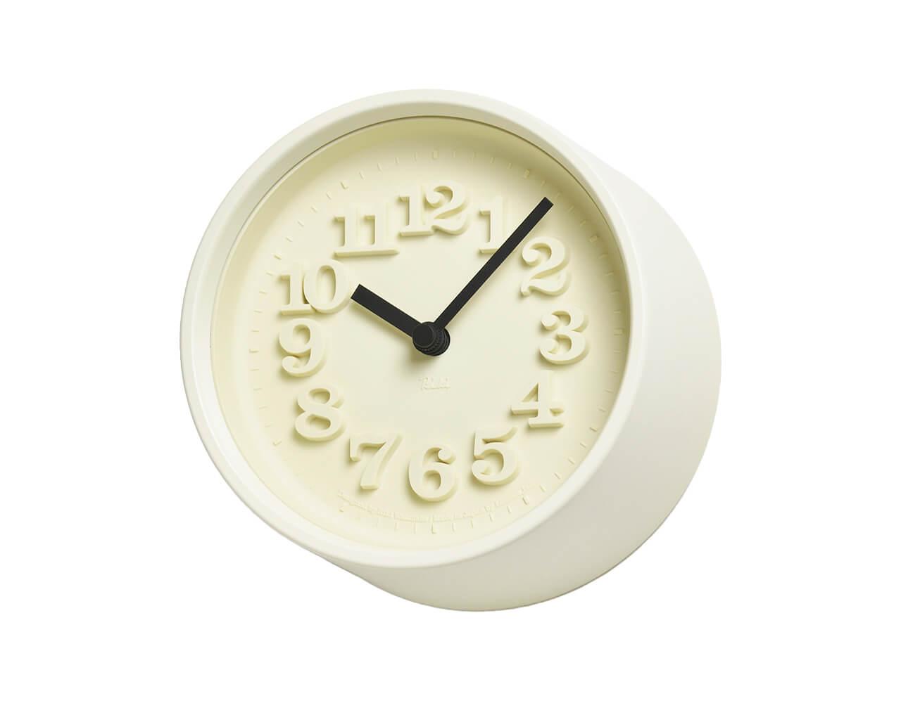 「小さな時計」(直径12.2㎝)¥11000/タカタレムノス