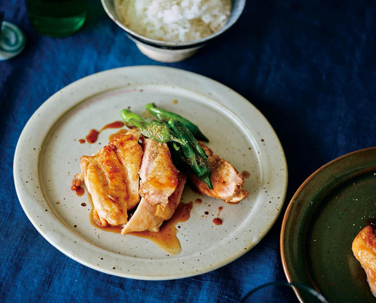 「鶏の照り焼き」レシピ/ワタナベマキさん