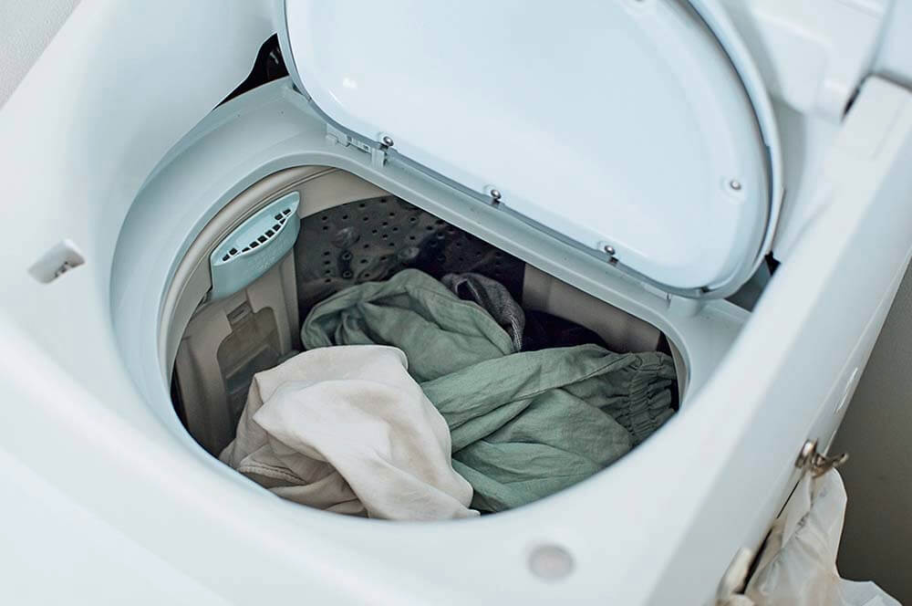エコナセイカツマキさんの縦型洗濯機