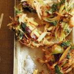 アイキャッチ画像:フライパンで「かき揚げ」レシピ/小林まさみさん