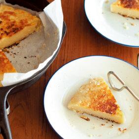 アイキャッチ画像:フライパンでらくらくおやつ「ショートブレッド」レシピ/ワタナベマキさん