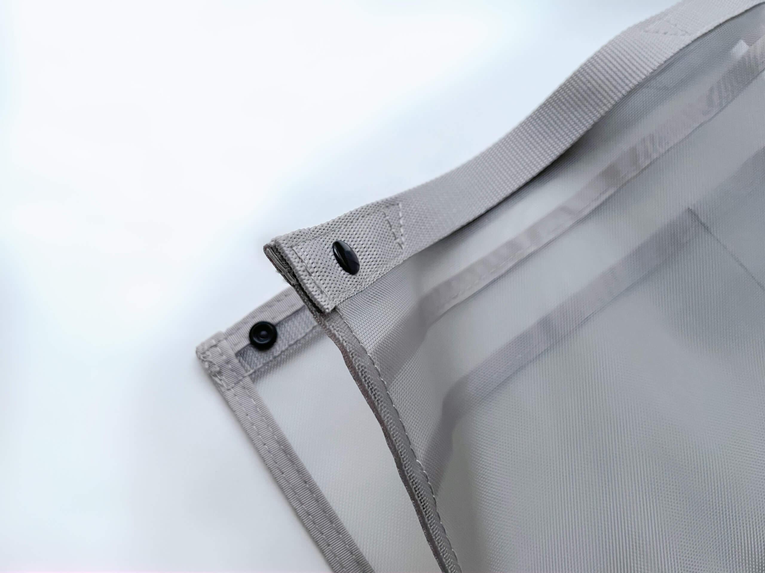 無印良品 ナイロンメッシュバッグインバッグ タテ型 縦型