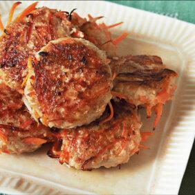 アイキャッチ画像:「にんじんとごぼうの塩つくね」レシピ/コウケンテツさん