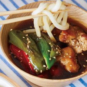 「ピーマンと鶏肉の香ばしつけ麺」レシピ/ワタナベマキさん