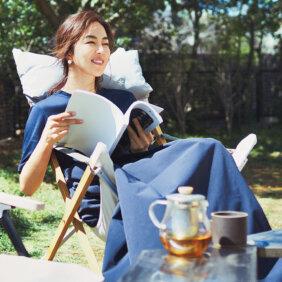 鈴木六夏さんがおうち時間で見つけた最高の趣味【花とグリーンのある暮らし】モデル鈴木六夏さん