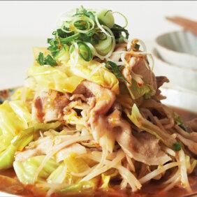 アイキャッチ画像:「豚バラ、キャベツ、もやしのオイスターソース煮」レシピ/コウケンテツさん