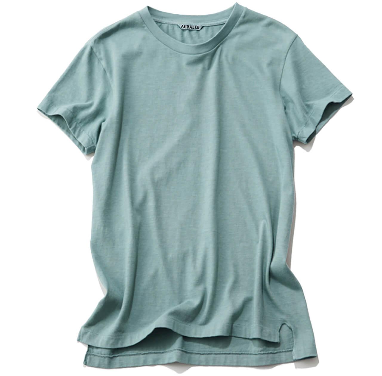カラーTシャツ¥8250/オーラリー