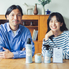 橋本優子さん・鈴木隆行さん夫妻に聞きました! 家族みんなが心地よく過ごすために「おうちの香り問題」どうしてる?