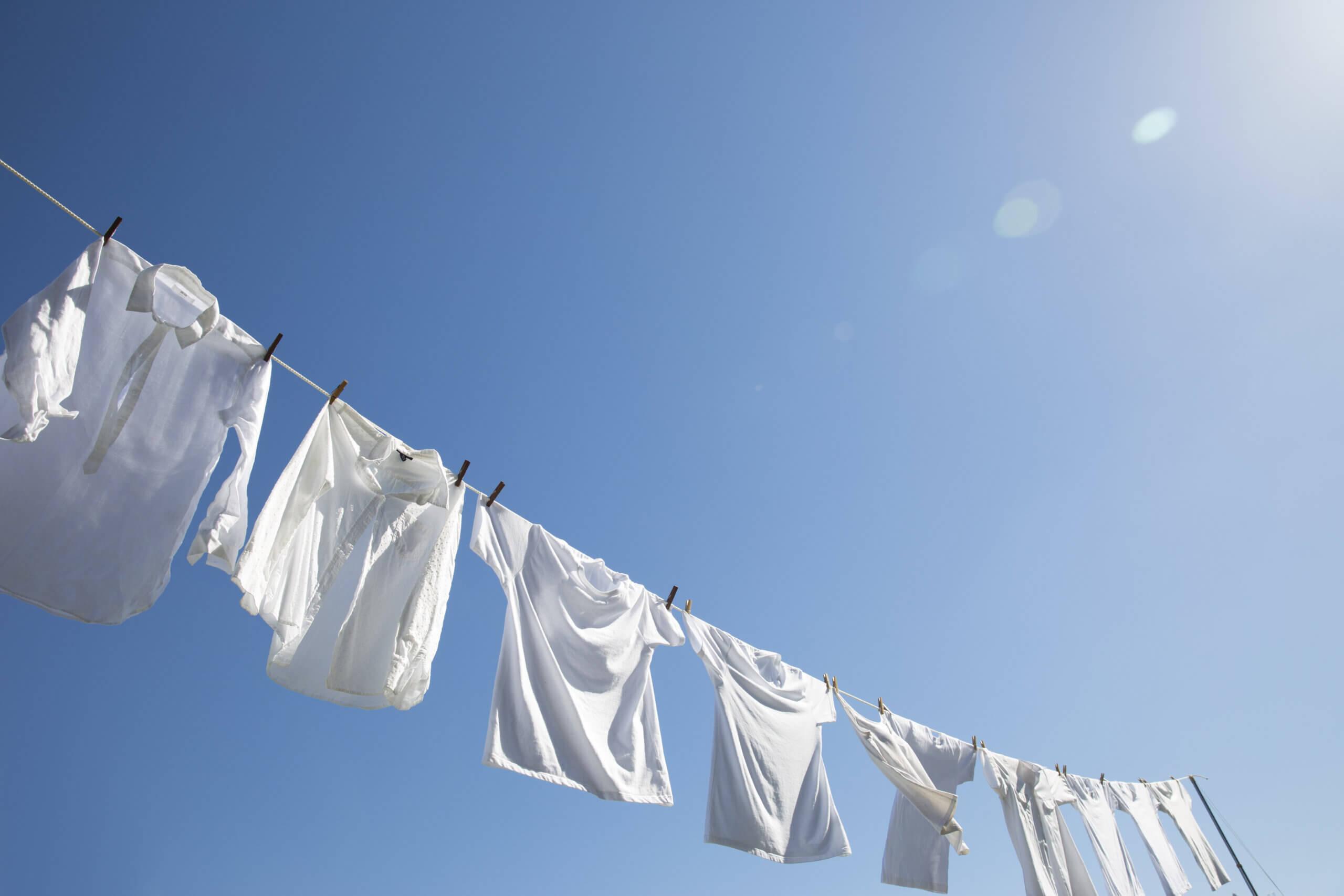 夏の洗濯イメージ