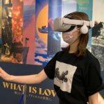 ディズニープリンセス展 VR体験画像