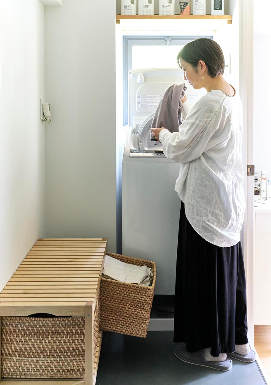 竹沢愛美さんの洗濯機