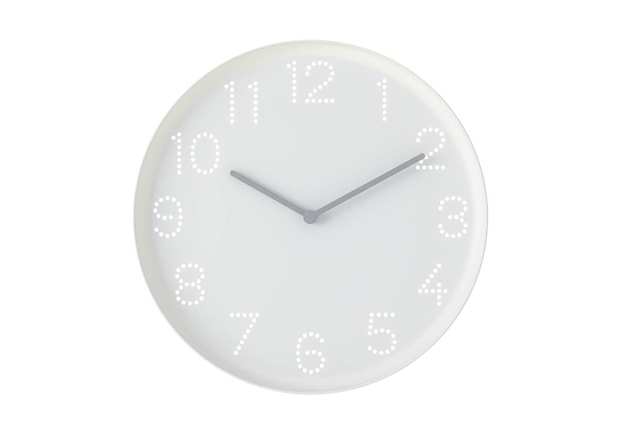 TROMMA ウォールクロック(直径25㎝)¥249/イケア・ジャパン