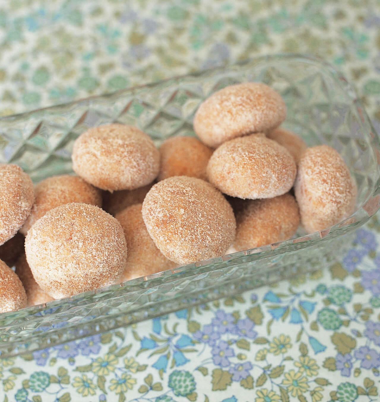 「ころころココナッツクッキー」レシピ/なかしましほさん